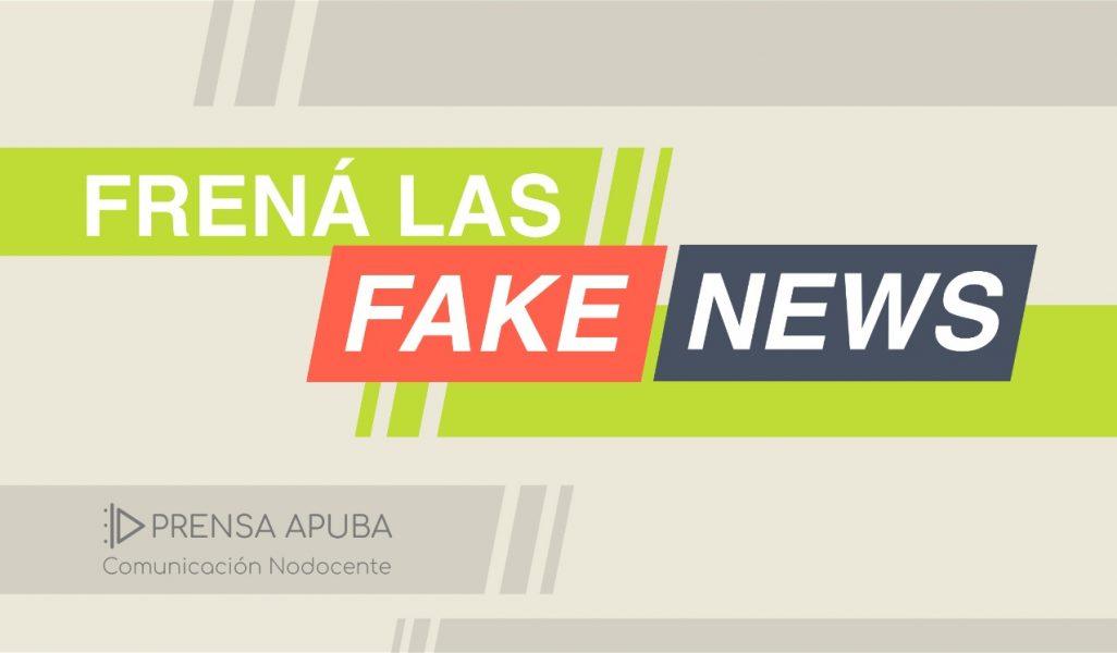 Campaña de la Sec. de Prensa contra la desinformación