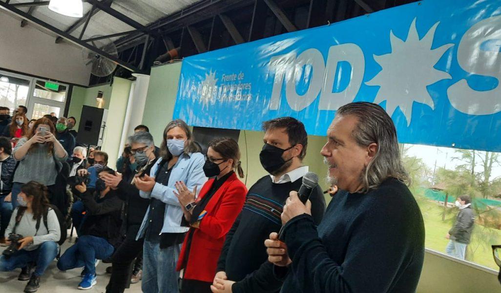 Acto de APUBA y ADUBA en apoyo a los candidatos/as del Frente de Todos