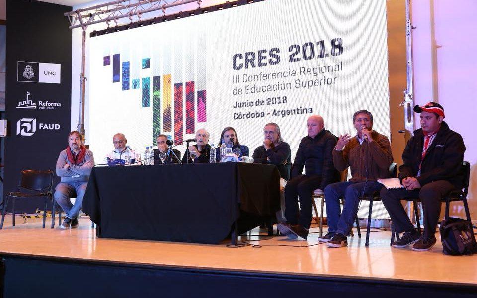 APUBA y la CONTUA en la CRES2018
