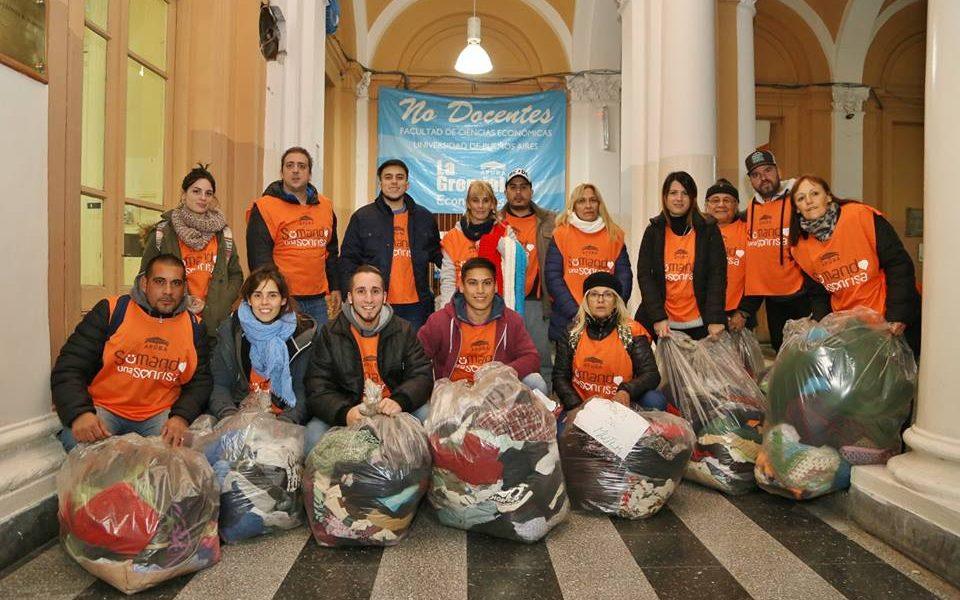 Cruzada Solidaria: Entrega de donaciones