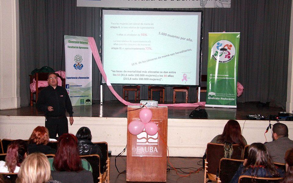Prevenir y detectar: lucha contra el Cáncer de Mama en Agronomía